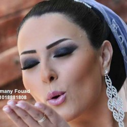 خبيرة التجميل اماني فؤاد-الشعر والمكياج-القاهرة-2