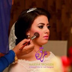 خبيرة التجميل مروة محسن-الشعر والمكياج-القاهرة-2