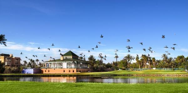 بافيلون دو جولف - الحدائق والنوادي - مراكش