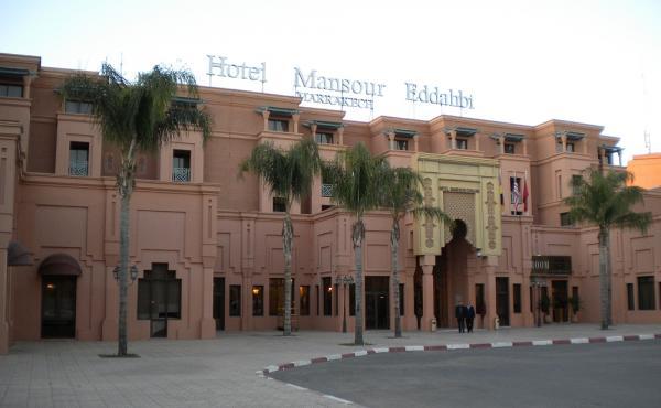 منصور الذهبي - الفنادق - مراكش
