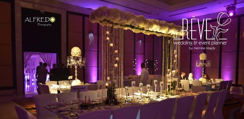 Le reve lebanon wedding