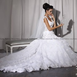 Fatma Bouchiba-Robe de mariée-Tunis-4