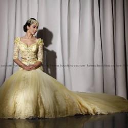 Fatma Bouchiba-Robe de mariée-Tunis-2
