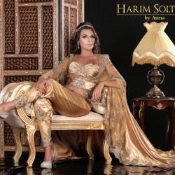 Harim Soltane-Robe de mariée-Tunis-1
