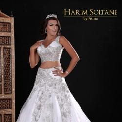 Harim Soltane-Robe de mariée-Tunis-2