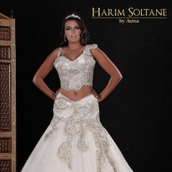 Harim Soltane-Robe de mariée-Tunis-3