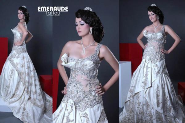 الزمرد تاتو - فستان الزفاف - مدينة تونس