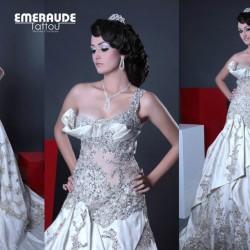 الزمرد تاتو-فستان الزفاف-مدينة تونس-1