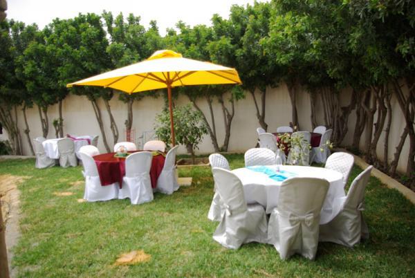 حديقة الورود - قصور الافراح - مدينة تونس