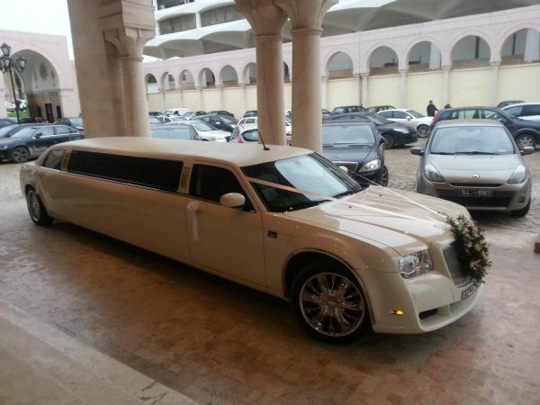 Chrysler Limousine - voiture de mariage - Tunis