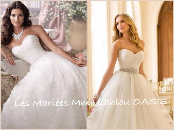 عرائس السيدة لحلو - فستان الزفاف - الدار البيضاء