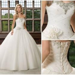 فساتين زفاف - السيدة بنبراهيم-فستان الزفاف-الدار البيضاء-3
