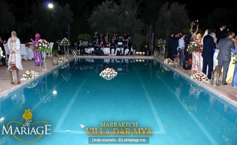 فيلا دار ميا - قصور الافراح - مراكش