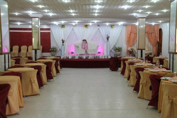 قاعة الافراح المعازيم - قصور الافراح - مدينة تونس