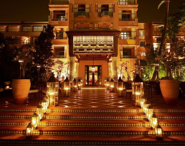 فندق المامونيا - الفنادق - مراكش