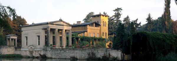 Römische Bäder - Arkadenhalle & Wasserterrasse - Hochzeit im Freien - Berlin