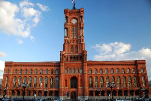 Rotes Rathaus - Säulenhalle - Historische Locations - Berlin