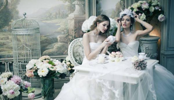 فكتوريا سترينغ - فستان الزفاف - دبي