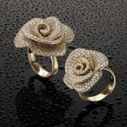 Azuelos-Bagues et bijoux de mariage-Casablanca-5
