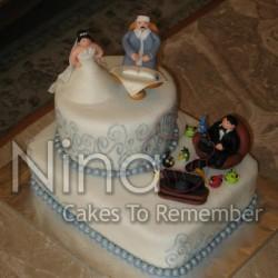 نينا لصناعة الكعك-كيك الزفاف-القاهرة-3