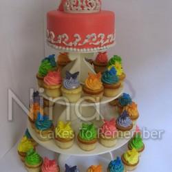 نينا لصناعة الكعك-كيك الزفاف-القاهرة-6