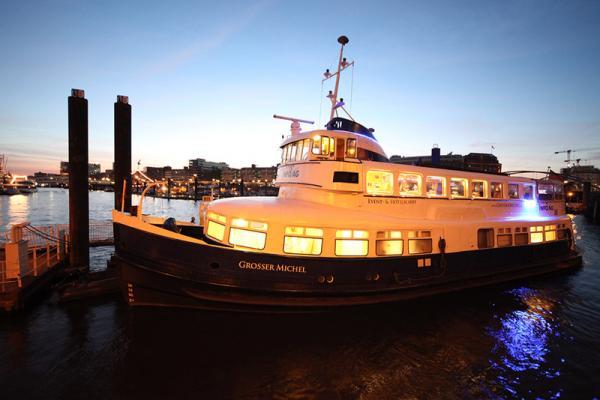 Eventschiff Grosser Michel - Besondere Hochzeitslocation - Hamburg
