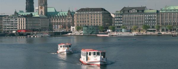 Flotte der Alsterschifffahrt - Besondere Hochzeitslocation - Hamburg