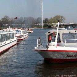 Flotte der Alsterschifffahrt-Besondere Hochzeitslocation-Hamburg-2