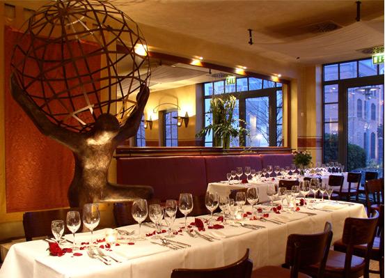 Atlas Restaurant - Restaurant Hochzeit - Hamburg