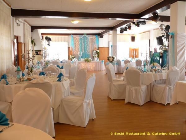 Sochi - Restaurant Hochzeit - Köln