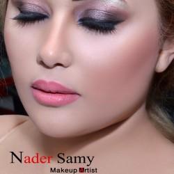 خبير الميك أب نادر سامي-الشعر والمكياج-القاهرة-6