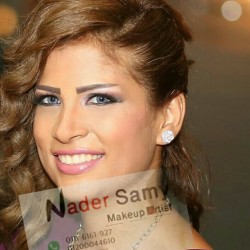 خبير الميك أب نادر سامي-الشعر والمكياج-القاهرة-3