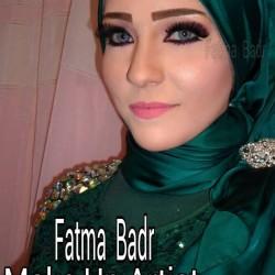 خبيرة المكياج والطرحات فاطمة بدر الدين-الشعر والمكياج-القاهرة-4