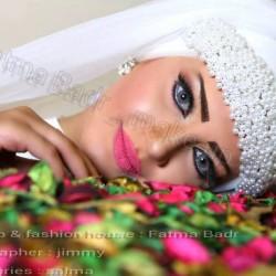 خبيرة المكياج والطرحات فاطمة بدر الدين-الشعر والمكياج-القاهرة-3