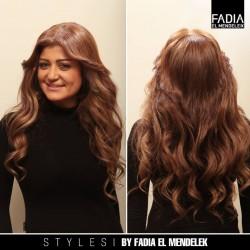 فاديا المندلق-الشعر والمكياج-الدوحة-2