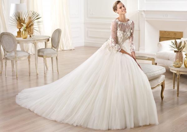 إيلي صعب - فستان الزفاف - الدوحة