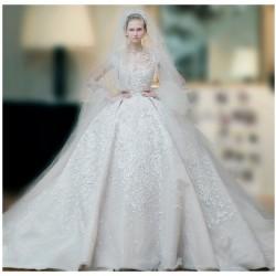 إيلي صعب-فستان الزفاف-الدوحة-4
