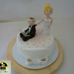بي ذا كوك-كيك الزفاف-القاهرة-1