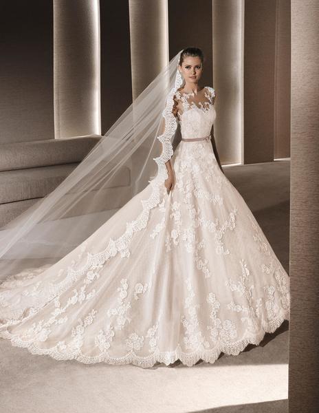 لا سبوزا - فستان الزفاف - دبي