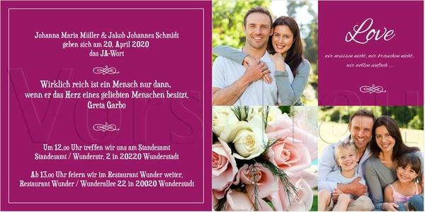 wunderkarten - Hochzeitseinladungen - Berlin