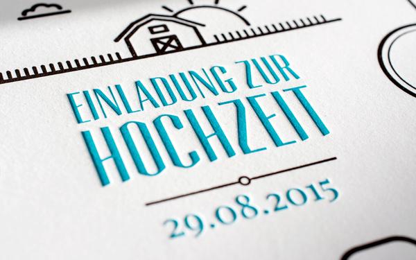 Letterpress Manufaktur Hamburg - Hochzeitseinladungen - Hamburg