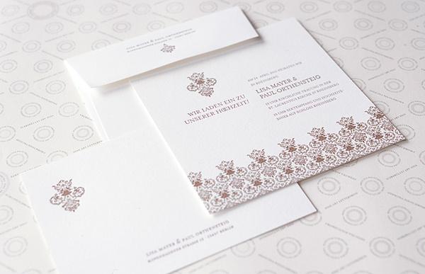 Officina Polychroma Letterpress - Hochzeitseinladungen - Hamburg
