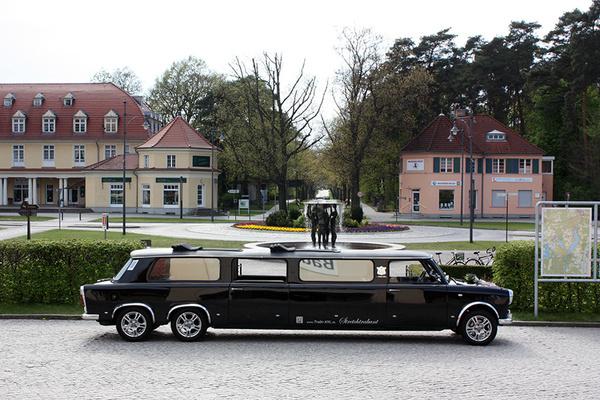 Trabi-XXL - Hochzeitsautos - Berlin