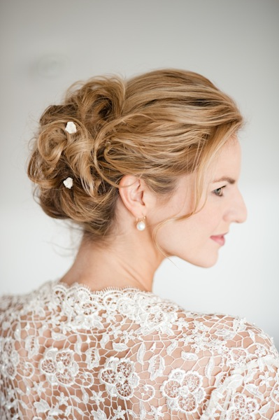 Hochgesteckte kirkthemosvi: haare halb Brautfrisuren lange