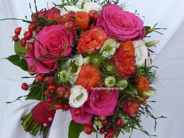 Blumenbinderei - Hochzeitsblumen und Blumensträuße - München