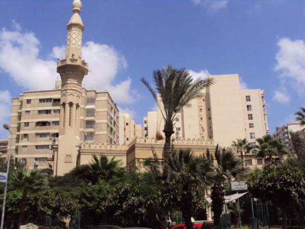 قاعة مسجد علي بن ابي طالب - قصور الافراح - الاسكندرية