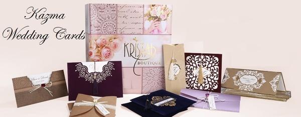 كازما لبطاقات الدعوات - دعوة زواج - بيروت