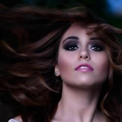 منه العجاتي -الشعر والمكياج-القاهرة-1