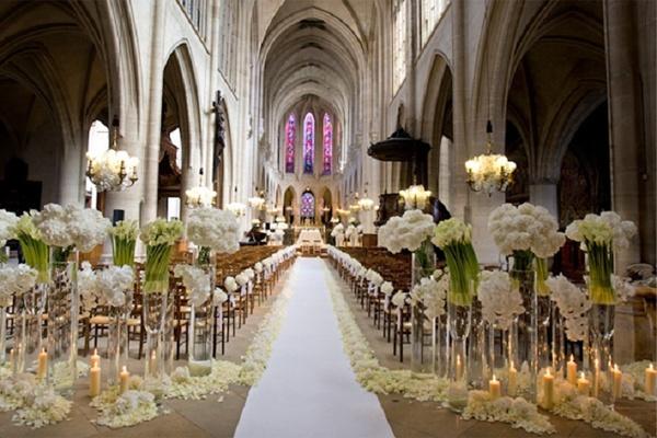 Blütenreich - Hochzeitsdekoration - Köln