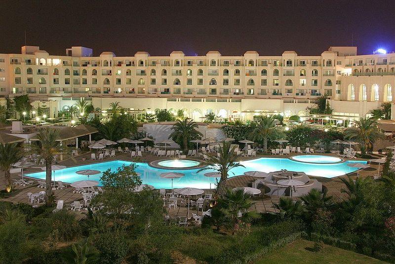 المرادي الحمامات - الفنادق - مدينة تونس